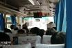 属于超载吗?张黄开往浦北运营车座位坐满了过道加小板凳继续坐人