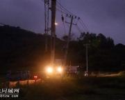 台风过后浦北供电部门积极抢修复电,背后的付出谁能懂?