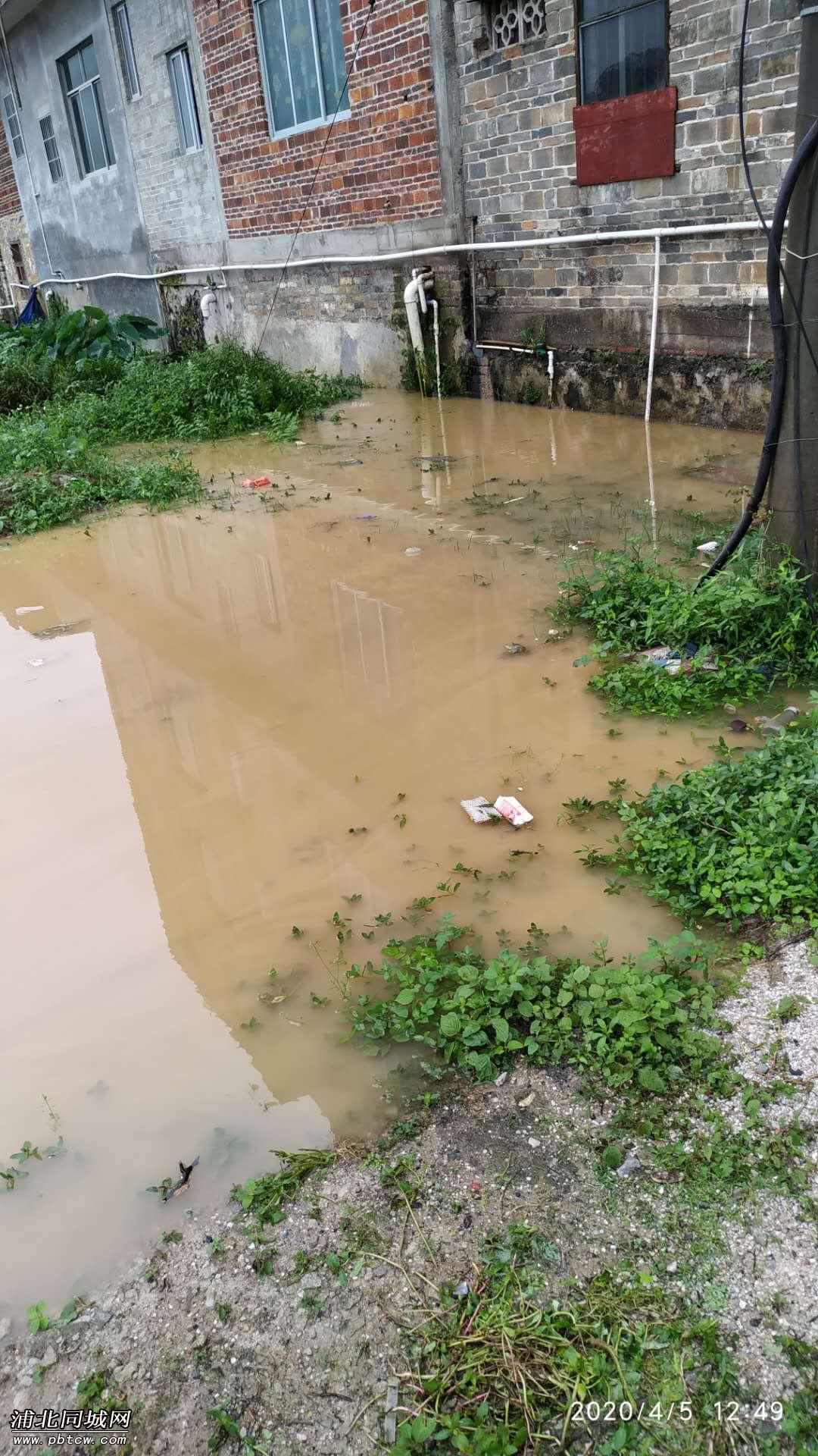 雨水不能排出